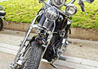 HD Softail Springer Lucky Brothers Franck